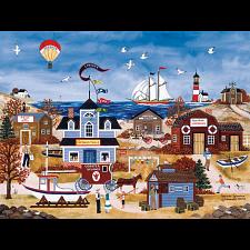Jane Wooster Scott: Seaside Splendor - Large Pieces - 101-499 Pieces