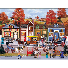 Jane Wooster Scott: Hustle and Bustle - Large Pieces - 101-499 Pieces
