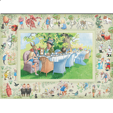 Alice's Adventures In Wonderland - Family Pieces Puzzle - Jigsaws
