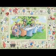 Alice's Adventures In Wonderland - Family Pieces Puzzle - 101-499 Pieces