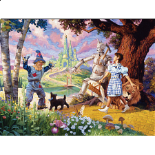 The Wizard of Oz - Family Pieces Puzzle - 101-499 Pieces
