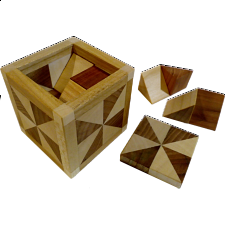 Special Box 508 (8TR - with lid) - European Wood Puzzles