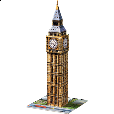 Ravensburger 3D Puzzle - Big Ben - 101-499 Pieces
