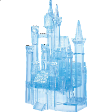 3D Crystal Puzzle Deluxe - Cinderella's Castle - 3D Crystal Puzzles