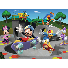 Mickey Mouse Clubhouse: At the Skate Park - 1-100 Pieces