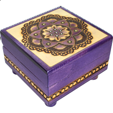 Chakra - Secret Box - Puzzle Boxes / Trick Boxes
