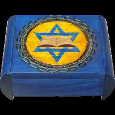 Star of David with Book - Secret Box -
