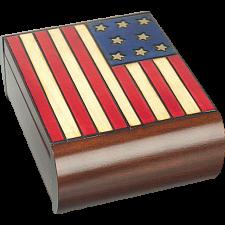 American Flag - Secret Box -