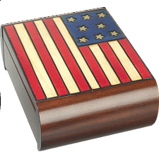 American Flag - Secret Box -