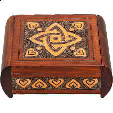 Classic Celtic Knot - Secret Box - Puzzle Boxes / Trick Boxes