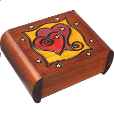 Secret Heart - Secret Box - Wood Puzzles