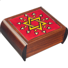 Star of David - Secret Box - Wood Puzzles