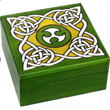 Celtic Secret Box - Puzzle Boxes / Trick Boxes