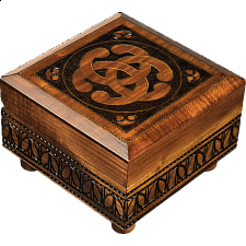 Celtic Knot - Secret Box - Puzzle Boxes / Trick Boxes
