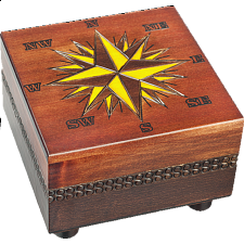 Compass - Secret Box - Puzzle Boxes / Trick Boxes
