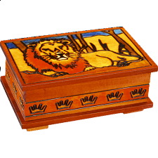 Lion of the Sahara - Secret Box - Puzzle Boxes