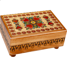 Surrounded by Love - Secret Box - Wood Puzzles