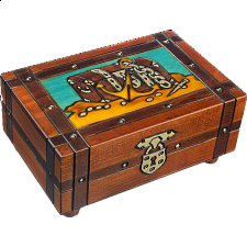 Pirate's Plunders - Secret Box - Wood Puzzles