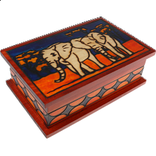 Elephants - Secret Box - Puzzle Boxes / Trick Boxes