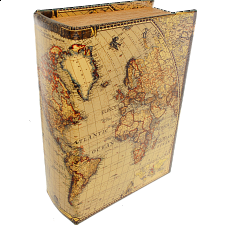 Map Book - Safe Box -