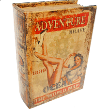 Adventure Book - Safe Box - New Items