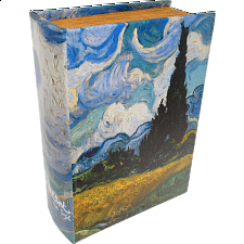 Wheatfield with Cypresses Book - Safe Box -