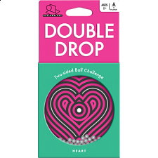 Double Drop: Heart - Maze Puzzles