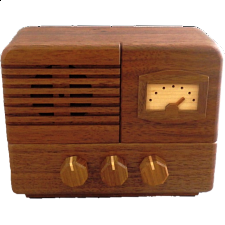 Karakuri Antique Radio - Japanese Puzzle Boxes
