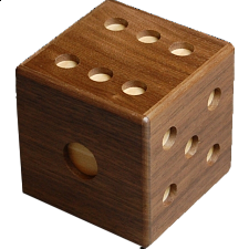 Karakuri Dice (New) - Wood Puzzles