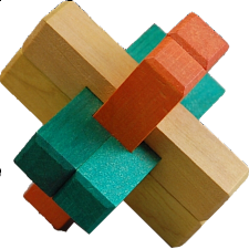Kumiki Puzzle - 6 Piece - Other Wood Puzzles
