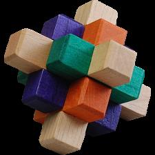 Kumiki Puzzle - 9 Piece -