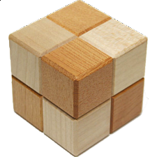 Karakuri Cube Box #1 - Other Japanese Puzzle Boxes