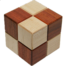 Karakuri Cube Box #4 - Other Japanese Puzzle Boxes