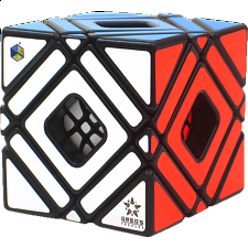 Greg Multi-Skewb Cube - Black Body - Rubik's Cube & Others