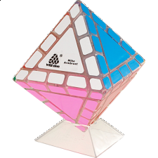Mike Armbrust Octahedral Mixup - Clear Cube - Rubik's Cube & Others