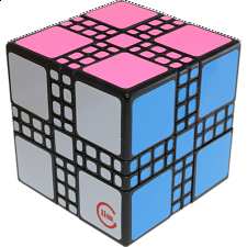 limCube Master Mixup Cube Type 2 - Black Body - Other Rotational Puzzles