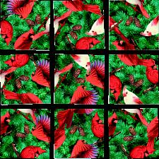 Scramble Squares - Cardinals -