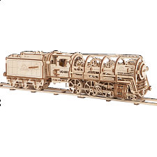 Mechanical Model - Steam Locomotive with Tender - New Items