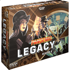 Pandemic: Legacy Season 2 (Black Edition) - New Items