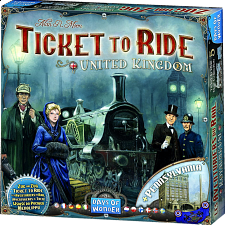 Ticket to Ride: United Kingdom (Expansion) - New Items
