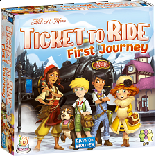 Ticket to Ride: First Journey - Europe -