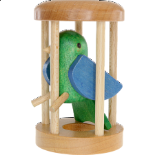 Parrot in a Cage - Other Wood Puzzles