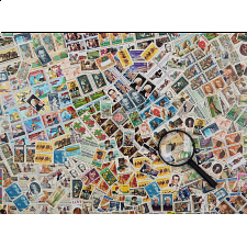 Stamps Challenge - Jigsaws