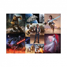 Stars Wars Collage - 101-499 Pieces