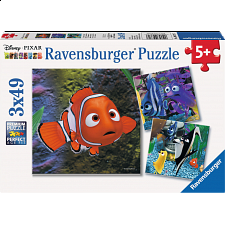 In the Aquarium - 3 x 49 piece puzzles - New Items