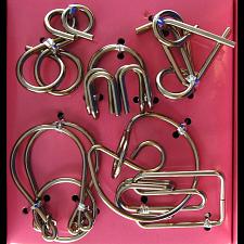 Hanayama Wire Puzzle Set - Pink -