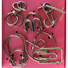 Hanayama Wire Puzzle Set - Pink - Search Results