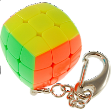 3x3 Pillow Cube Keychain - Stickerless - Rubik's Cube & Others