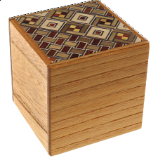 2 Sun Cube 4 Step Drawer Koyosegi / Natural -