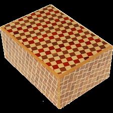 4 Sun 10 Step Ichimatsu / Kuzushi - Japanese Puzzle Boxes